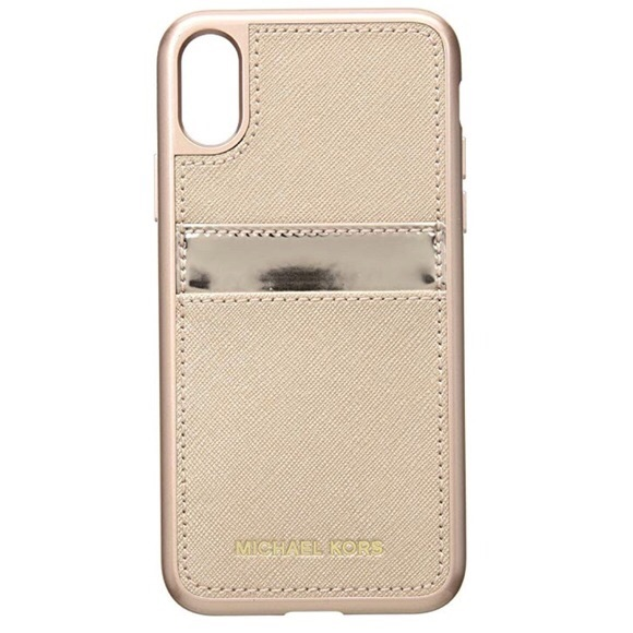 2e4f13783c8363 Michael Kors Accessories | Iphone X Case In Rose Gold | Poshmark